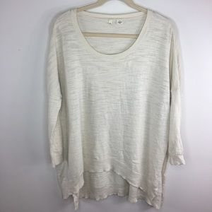 Anthropologie Side Slit Sweater